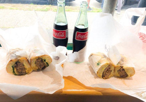 Caribbean Roast + Press Sandwich